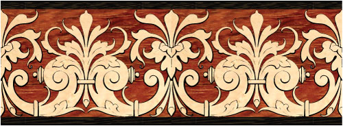 Hardwood Flooring Inlaid Designs