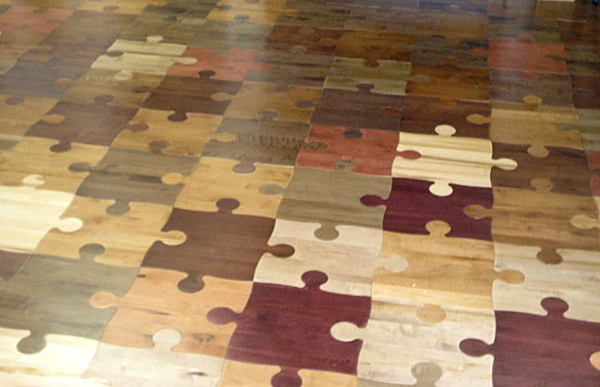 puzzle wood floor wood parquet wood tile puzzle floor